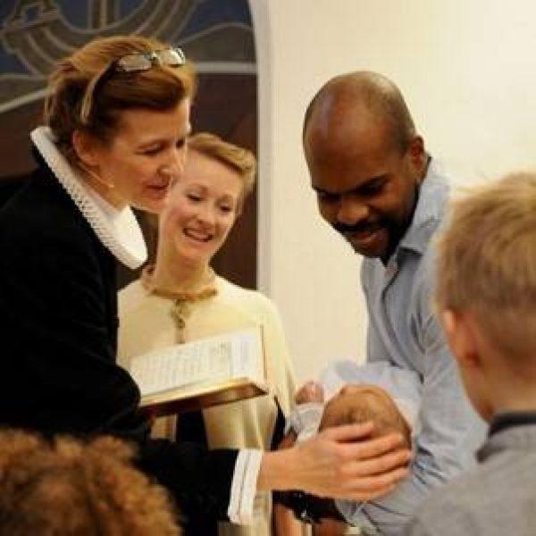 Charlotte og dåb